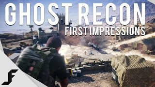 Ghost Recon Wildlands - First Impressions