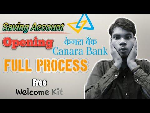 canara bank zero account opening online