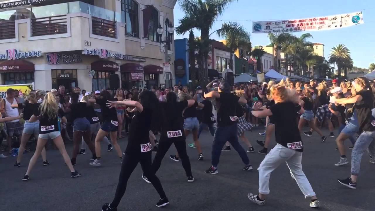 Dance Show Huntington Beach Tuesday Street Fair 2017