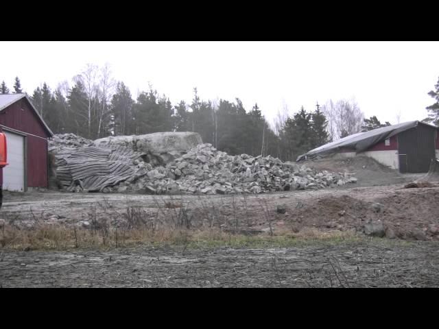 Lännen Kalliolouhinta Oy - Räjäytystyö 2