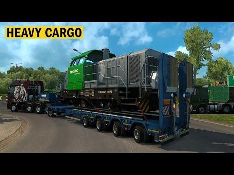 Euro Truck Simulator 2 | Heavy Cargo Pack | Nuevas Cargas Pesadas