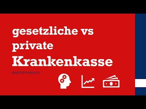 Private Krankenversicherung Vs. Gesetzliche Krankenversicherung / Vor- Und Nachteile