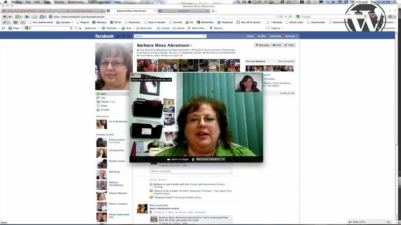 How to use Facebook Video Calling