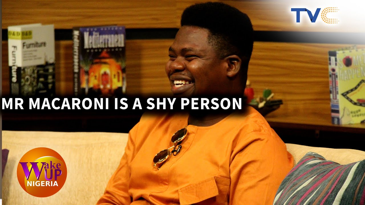 Mr Macaroni Aka 'You Are Doing Well' Hilarious Interview On TVC