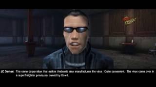 Deus Ex dropping redpills.