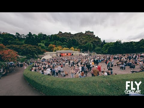 FLY Open Air #3 - Princes Street Gardens, Edinburgh 2017