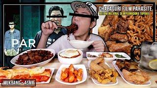 RAM-DON RECIPE: CHAPAGURI STEAK FILM PARASITE OSCAR WINNING MYEONGDONG TOPOKKI | ASMR MUKBANG