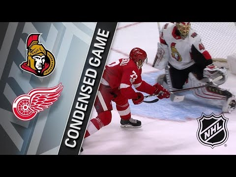 Ottawa Senators vs Detroit Red Wings – Jan. 03, 2018 | Game Highlights | NHL 2017/18. Обзор матча