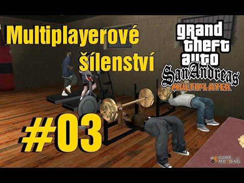 【SA-MP】Multiplayerové šílenství #03 - PRVNÍ PRÁCE