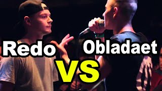 Redo VS Obladaet - Grime Clash - LVL UP