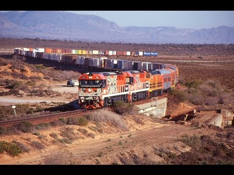The First Freight Train To Darwin 15th January 2004