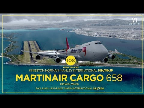 [P3Dv4 ] B747 | Kingston Norman Manley (KIN) → San Juan Luis Munoz Marin (SJU)