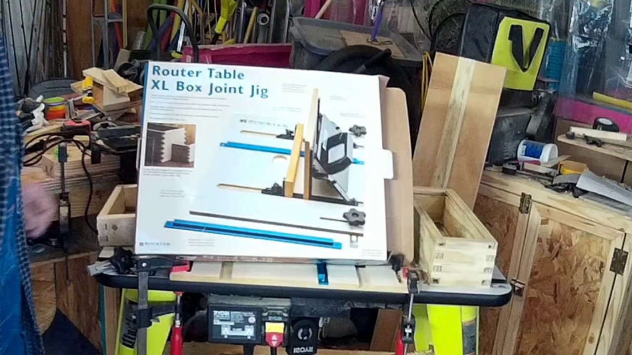 Rockler Box Joint Jig Table Saw