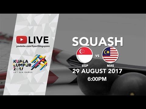 Squash Women's Team final: Singapore 🇸🇬 vs 🇲🇾 Malaysia | 29th SEA Games 2017