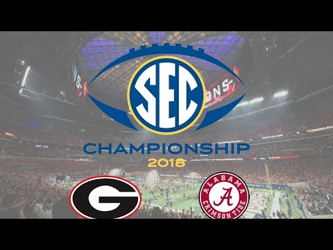 SEC CHAMPIONSHIP Alabama Crimson Tide/Georgia Bull Dogs Live Stream Reaction
