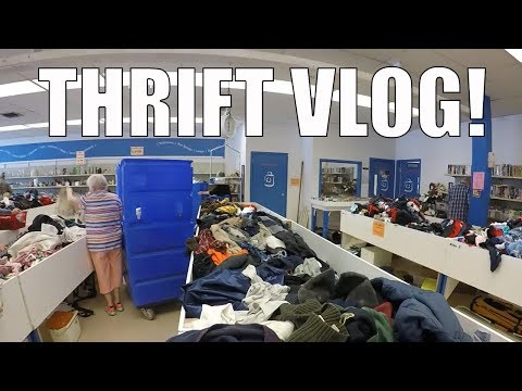 Thrift Store Shopping For Resale On EBay - Goodwill Bins & Outlet Store