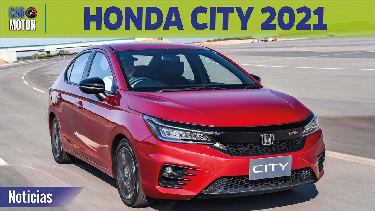 Honda City 2021 - EL AUTO MÁS ECONÓMICO!! 🚗  Car Motor ...