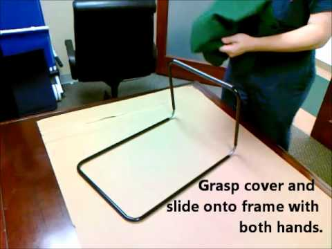 Backjack Anywhere Chair Theater Cup Holder Replacement Assembling Your Back Jack Bodymindwisdom Com Youtube