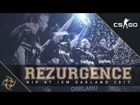 REZURGENCE – NiP at IEM Oakland 2017 (Fragmovie/Documentary)