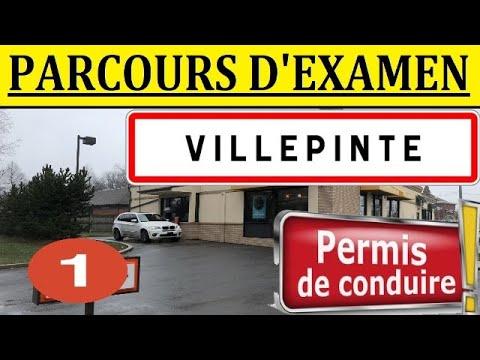Examen Parcours Permis  VILLEPINTE #1