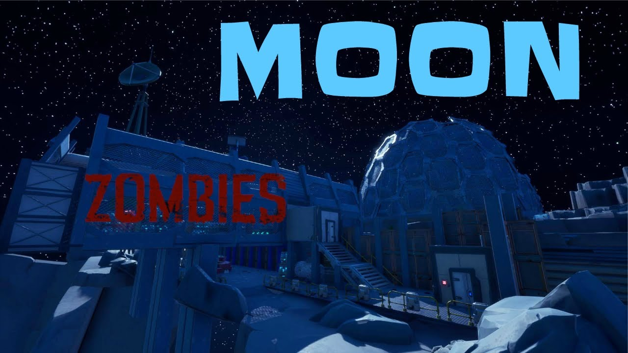 """Call of Duty """"MOON"""" ZOMBIES Map in FORTNITE! - YouTube"""
