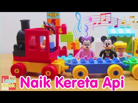 NAIK KERETA API | Mainan Anak | Lagu Anak Channel