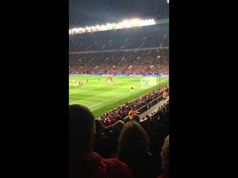 Manchester United vs Olympiacos Van persie penalty