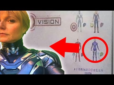 Avengers 4 Iron Man RESCUE Armor CONFIRMED! FIRST LOOK