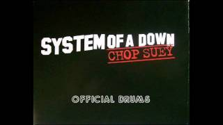 System of a Down - Chop Suey studio drums track