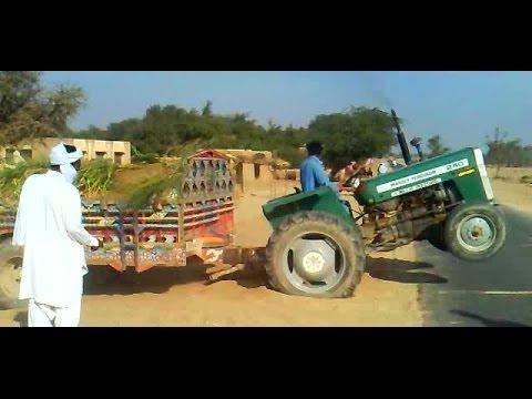 Massey Ferguson MF 240 Tractor Power & Crazy Driver In Punjab 2017