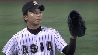 Baseball 東浜巨 14K完封 [9回表] 神宮大会2012-1112
