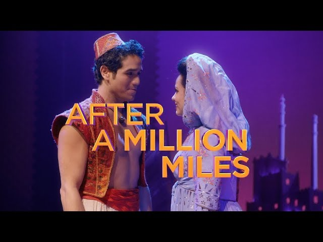 """A Million Miles Away"" from ALADDIN on Broadway (Lyric Clip)"
