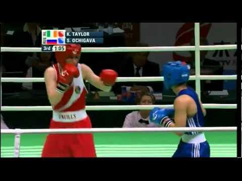 Light (60kg) Final - Taylor (IRL) vs Ochigava (RUS) - AIBA Women's World C'ship 2012