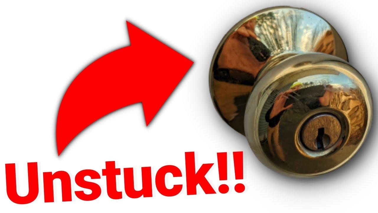 Sticky Door Knob Repair Highlights - YouTube