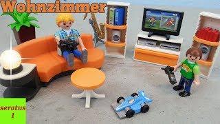 Playmobil Wohnzimmer 9267 auspacken für Modernes Wohnhaus seratus1