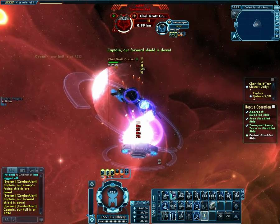 star trek online how to find patrol missions