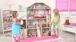 Wooden Majestic Mansion Dollhouse - Item 65252