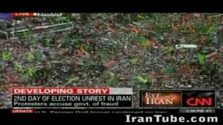 Iranian Election 2009 - Iranian Girl Speaks From Inside Iran - Riots & Live Video