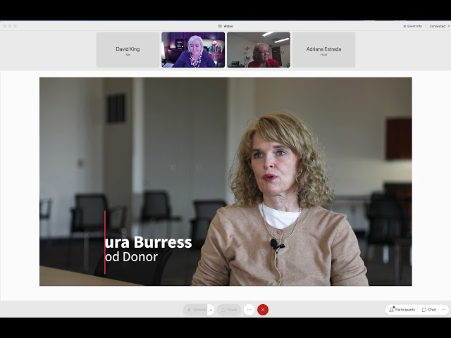 Voices of Hope webinar - Behind the Scenes: The Journey of Your Lifesaving Blood Donation
