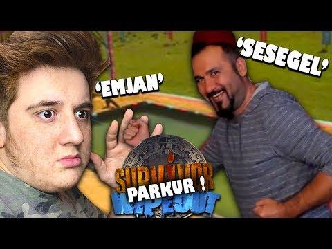 HASAN ABİ İLE TROLL SURVİVOR VS WİPEOUT PARKURU YAPIYORUZ !! (Çift Facecam)