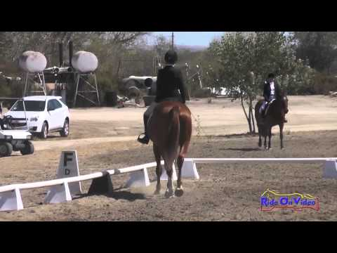 306D Katherine Hill on Phoenix Promiscuous Intro Dressage Twin Rivers Ranch Sept 2014