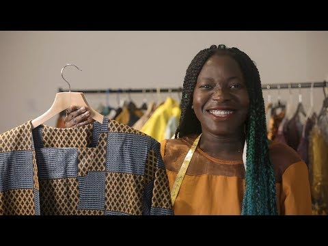 From refugee to royalty: Sierra Leone designer champions ethical fashion