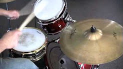 """How To Play """"Manic Depression"""" On Drums"""