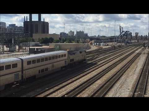 Amtrak & Metra at Union Station Portal