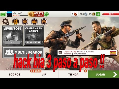 Hack bia 3 enseñando a hacer el hack paso a paso !!