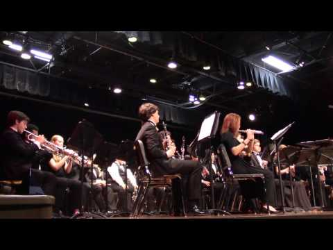 "New World School of the Arts Wind Ensemble ""Paris Sketches"" - Martin Ellerby"
