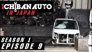 IN JAPAN | Утилизация авто | Погрузка контейнера