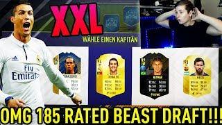 FIFA 18: 185 Rated XXL FUT DRAFT! Gewinnen wir das DRAFT?🔥🔥 - Ultimate Team (Deutsch) - Beast Packs!