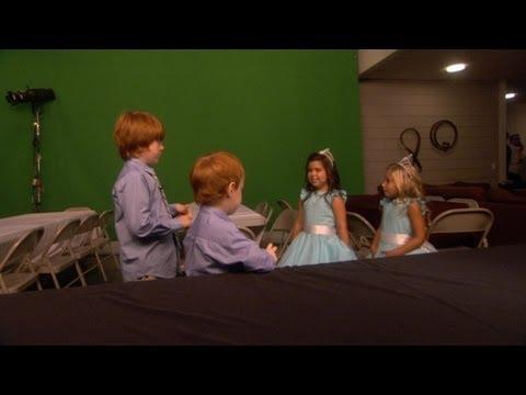 Exclusive! Rainer and Atticus Meet Sophia Grace & Rosie
