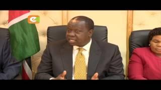 Matiang'i: Nitashirikiana na IEBC kukagua vyeti vya elimu vya wanasiasa